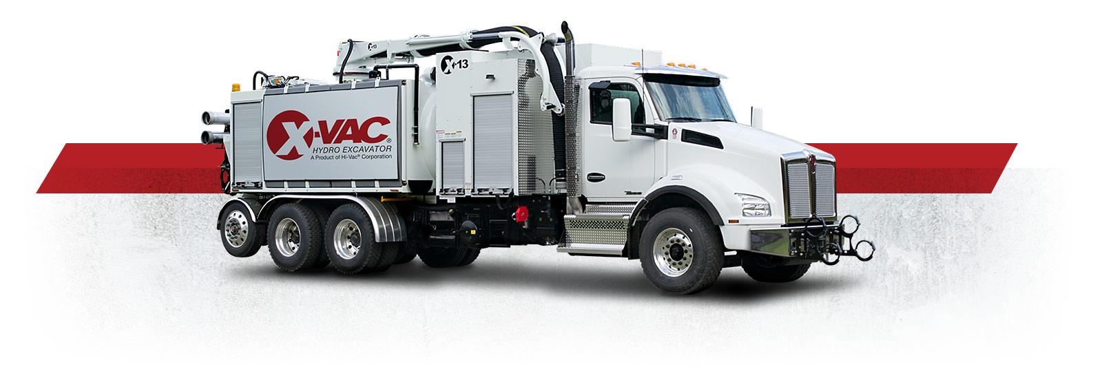 X-Vac Hydro Excavator Trucks